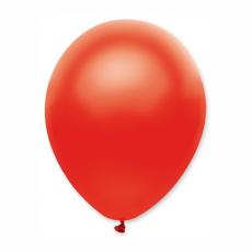 Balón 11´´ met. Červená S11 - 28 cm
