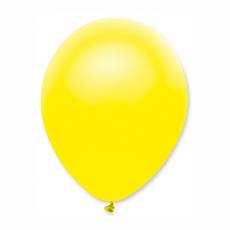 Balón metalický Žltý s305 S11 - 28 cm