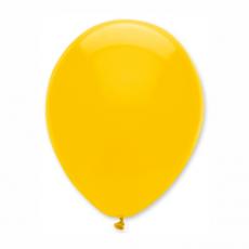 Balón Tmavo žltý 104 S11 - 28 cm