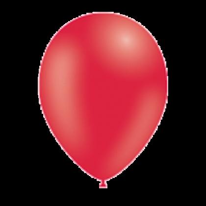 Balón Červený p025