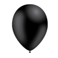 Balón Čierny s122