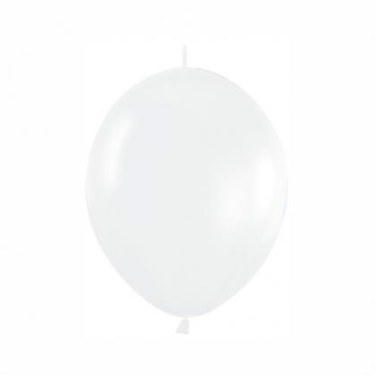 Balón biely naväzovací LOL 005 15cm