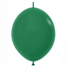 Balón naväzovací tmavo Zelená 032 28cm