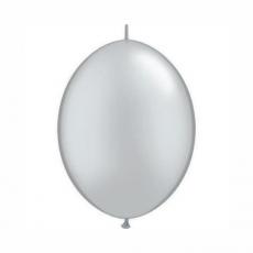 Balón naväzovací Strieborný Qlink 6´´ Silver