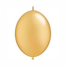Balón naväzovací Zlatý Qlink 6´´ Gold