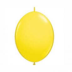 Balón Žltý naväzovací Qlink 15cm
