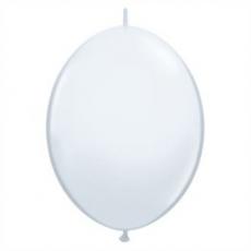 Balón naväzovací Qlink 12´´ Biela