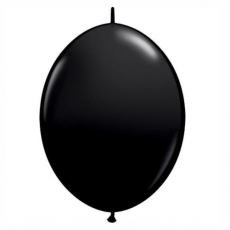 Balón naväzovací Čierny Qlink 12´´ Black