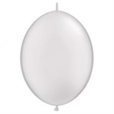 Balón naväzovací Qlink 12´´ Strieborný