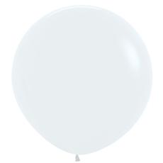 Balón Biely veľký 90cm - 3FT