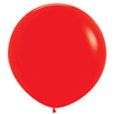 Balón Červený veľký 90cm - 3FT