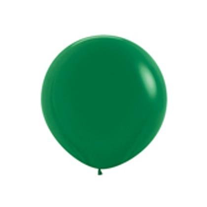 Balón tmavo Zelený veľký 90cm - 3FT