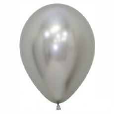 Balón Strieborný reflex