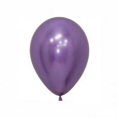 Balón Fialový reflex R5 - 13cm