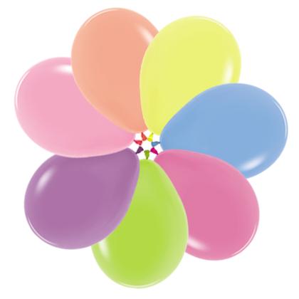 Balóny RN10 Top KVALITA neon 26 cm mix 100ks