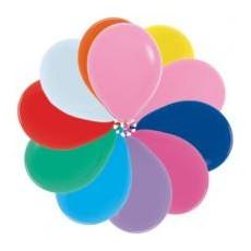 Balóny metalické GM110mix 28 cm