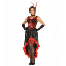 Kostým Kankán Tanečnice čierny