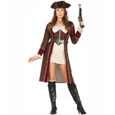 Kostým Pirátka delux