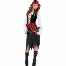 Dievčenský kostým Pirátka Bukatierka
