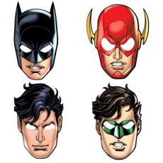 Masky hrdinov Liga Spravodlivosti