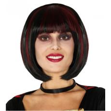 Parochňa čierna halloween krátka