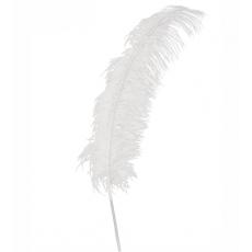 Pierko biele 50 cm