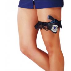 Podväzok s policajnou zbraňou