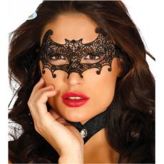Škraboška vyšívaná netopier