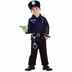 Chlapčenský kostým Policajta