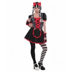 Kostým gotická bábika