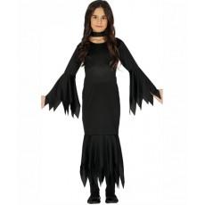 Detský kostým Čierna pani