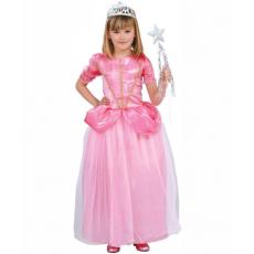 Detský kostým Princezná ružová