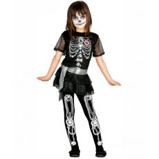 Dievčenský kostým Kostra