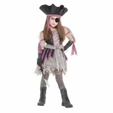 Kostým Pirátka strašidelná