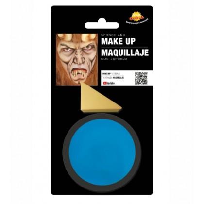 Farba na tvár modrá 9 g