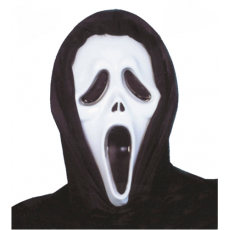 Maska Vreskot s kapucňou