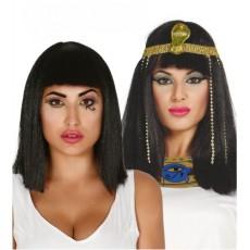 Parochňa čierna dlhá Cleopatra