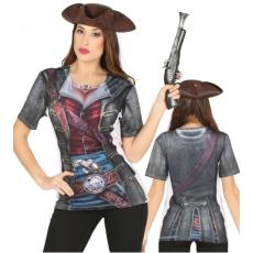 Pirátske tričko pre ženy