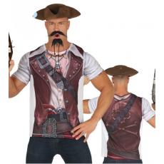 Pirátske tričko pre mužov