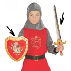 Rytiersky meč a štít