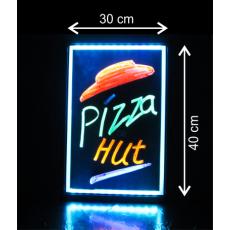 LED tabuľa 30x40 cm