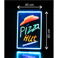 LED tabuľa 40x60 cm