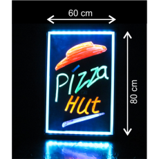 LED tabuľa 60x80 cm