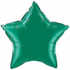 Balón Hviezda Tm. zelená 45 cm