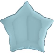 Balón hviezda Modrá Pastel 45 cm
