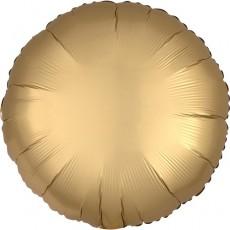 Balón Kruh zlatý saténový 45 cm