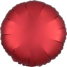 Balón Kruh červený saténový 45 cm