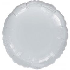 Balón Kruh Strieborný 45 cm