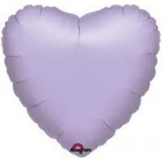 Balón Srcde 45 cm Bledo Fialové