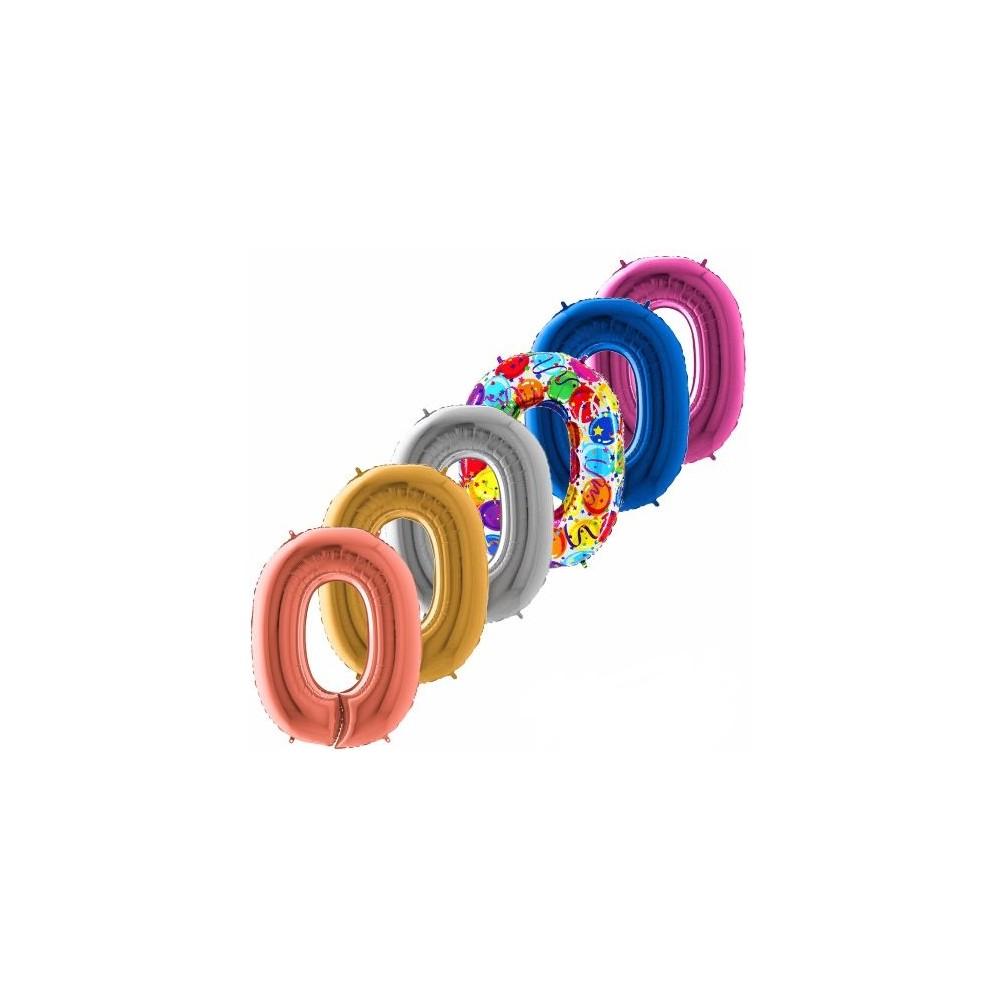 balon cislo 0 maxi 100 cm
